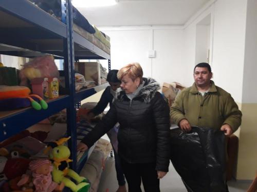 Sklad solidarity pomáha aj obyvateľom dediny Ubľa